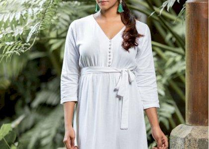 HEAVENLY WHITE MAXI DRESS