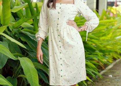 NADIA CASUAL SHORT DRESS