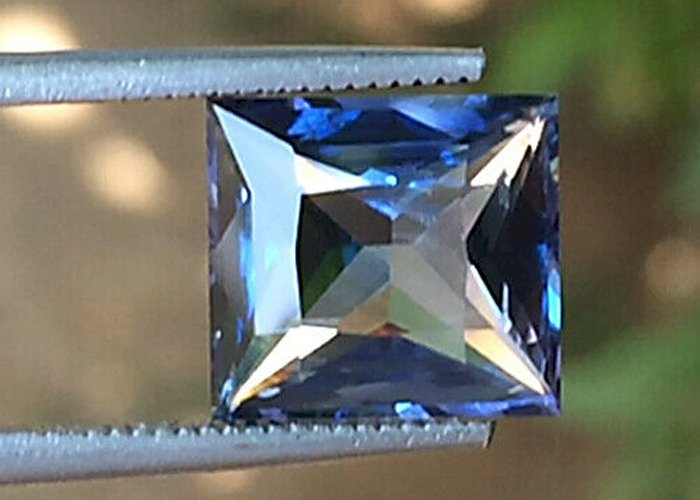 4.60 IF Cts Blue Sapphire Unheated Light Color Certified Blue Sapphire
