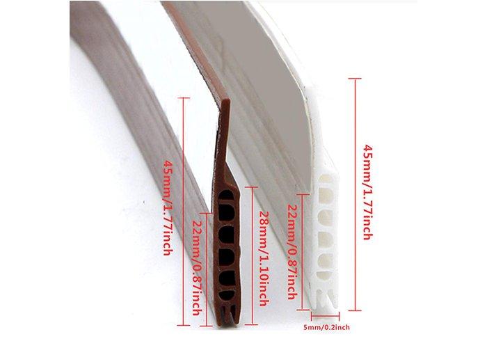 Anti-Insect Door Stops Draft Stopper Adhesive Door Bottom Sealing Strip Door Draft Blocker Protector Home Decor