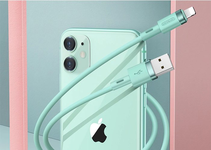 Charger For iPhone 12 Pro Max 11 X XR XS 8 7 6 6s 5 iPad Cord for Charging Charger Cable Liquid Silicone Cable For iPhone Cable