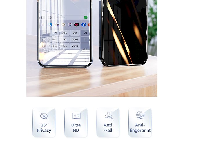 Private Screen Protector For iphone 12 11Pro Max X XS MAX XR Anti-spy Tempered Glass For iPhone 12 mini Privacy Glass