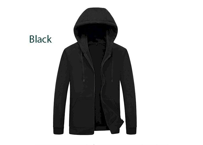 Men's hoodie with hood sweatshirts Jackets Men Fleece Streetwear Warm Tracksuit Men hoody Coats Velvet Sweatshirt Mens 982